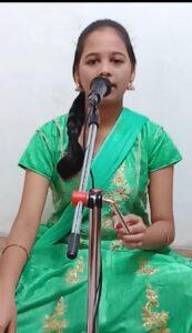 महाराष्ट्र राज्य जवाहर बालभवन, मुंबई आयोजित ऑनलाईन भक्ती गीत गायन स्पर्धेत कु.ऋचा पिळणकर हिचे यशस्वी पाऊल