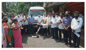 नगरविकास मंत्री ना.एकनाथ शिंदे व डॉ.श्रीकांत शिंदे फाउंडेशनच्या वतीने मालवण मध्ये रुग्णवाहिकेचे लोकार्पण…
