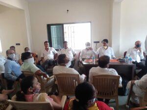 सिंधुदुर्ग जिल्हा काँग्रेस कार्यकारिणी बैठकीत आरोप-प्रत्यारोपांच्या फैरी…