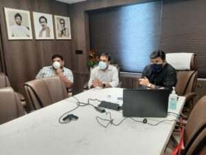 सिंधुदुर्गमधील खाजगी रुग्णालये कोविडसाठी घेण्यासंदर्भात विचारविनिमय….