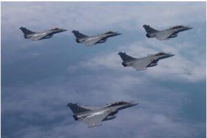 फ्रान्सकडून भारताला आणखी ५ राफेल विमाने, ऑक्टोबरमध्ये हवाई दलात दाखल होणार…..