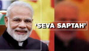 आजपासून सेवा सप्ताहातून भाजपा सिंधुदुर्ग साजरा करणार पंतप्रधानांचा वाढदिवस..
