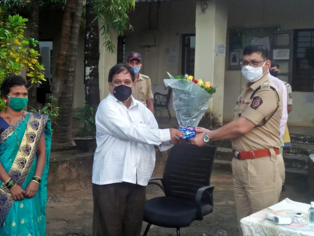 नवरात्रोत्सव कालावधीत गरबा दांडिया व सांस्कृतिक कार्यक्रमाचे आयोजन करु नये – पोलीस अधीक्षक राजेंद्र दाभाडे