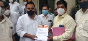 आरोग्य राज्य मंत्र्यांच्या जिल्हा दौऱ्यात मनसेकडून सिंधुदुर्ग जिल्हा रुग्णालयातील विविध समस्यांसंदर्भात निवेदन सादर…