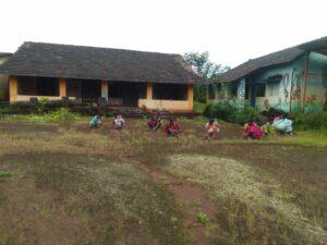 जि. प. प्रा. शाळा शिडवणे कोनेवाडी येथे स्वच्छता कार्यक्रम संपन्न…