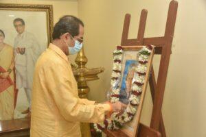 मुख्यमंत्री उद्धव ठाकरे यांचे माजी राष्ट्रपती भारतरत्न डॉ. ए.पी.जे. अब्दुल कलाम यांना जयंती निमित्त अभिवादन….