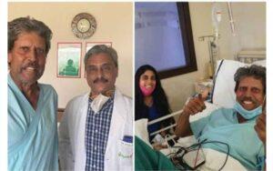 कपिलदेव यांना फोर्टिस रुग्णालयातून डिस्चार्ज…