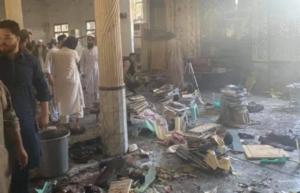 पाकिस्तानच्या पेशावरमधील मदरशाजवळ स्फोट