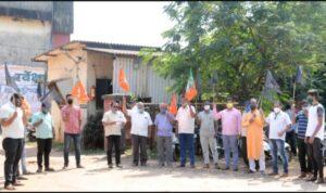 भाजपा वेंगुर्लाच्या वतीने एसटी डेपो बाहेर सरकारच्या विरोधात आंदोलन…