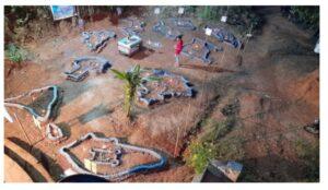 छत्रपती शिवाजी महाराजांच्या गडकिल्ल्यांच्या प्रतीकृतींचे मळगावात प्रदर्शन…..