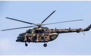 लष्कराचे हेलिकॉप्टर कोसळून पायलेटसह चौघांचा मृत्यू..