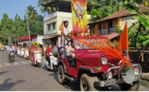 Read more about the article जय श्री राम घोषणांनी व भगवे झेंडे धारी बाईक रॅलीने वेंगुर्ला शहर भगवामय