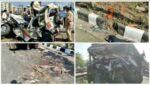 सोमवार की अपघातवार; एकापाठोपाठ ४ अपघात, दोघांचा मृत्यू १० जखमी