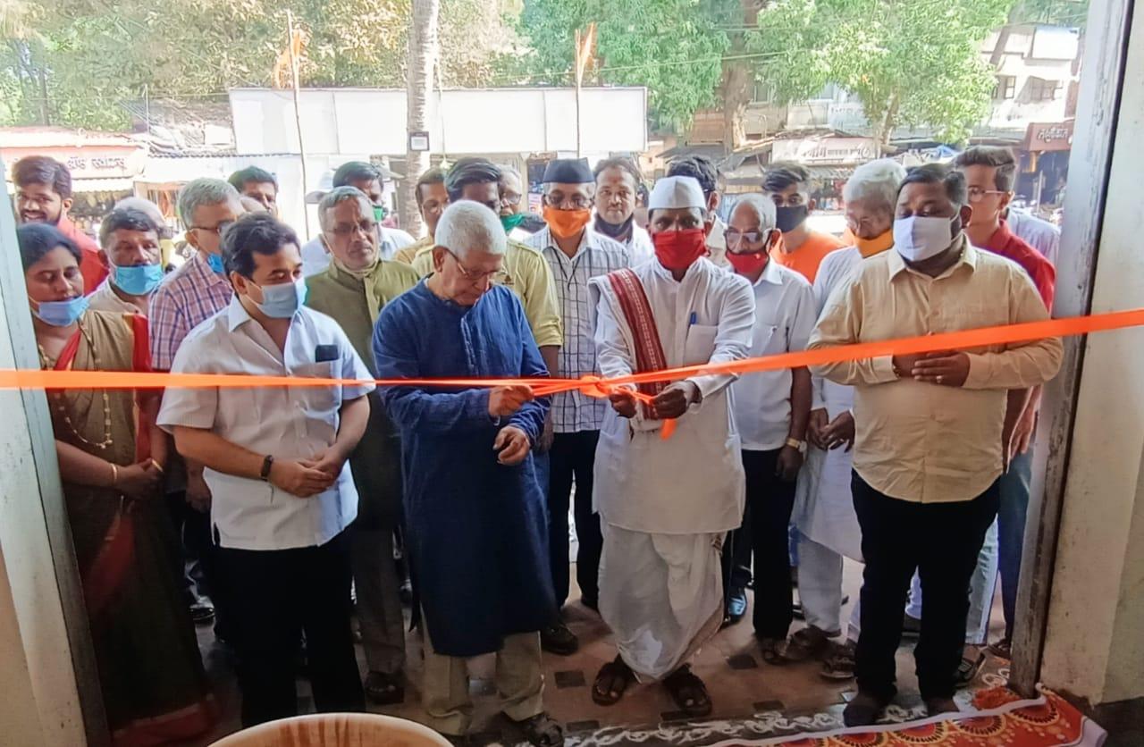 श्रीराम जन्मभूमी तिर्थक्षेत्र न्यासाच्या सिंधुदुर्ग जिल्हा कार्यालयाचे कुडाळमध्ये भव्य मिरवणुकीसह जल्लोषात उद्धाटन