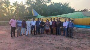 हंटर विमान परिसराची सिंधुदुर्गनगरी येथील मुख्यालय पत्रकार संघाकडून सफाई…
