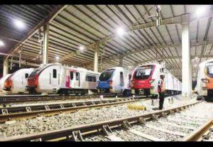 मेट्रो ३ काराशेडसाठी जागा लवरच निश्चित होणार ९  सदस्यीय समितीने  केली पाहणी.