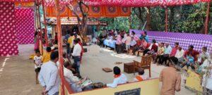 माड्याच्या वाडीतील ब्राह्मण मंदिरात भाविकांची अलोट गर्दी