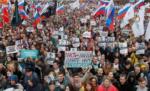 पुतिन सरकारविरोधात मोठ्या प्रमाणावर आंदोलन सुरु