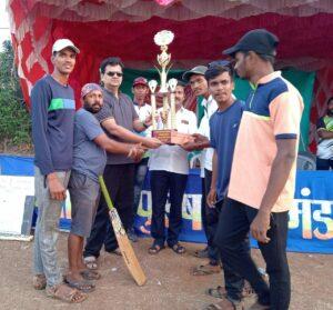 तरुण उत्साही मित्र मंडळ आजार वाडी परुळे क्रिकेट स्पर्धेत दत्तप्रसाद होडावडे संघ विजेता तर उपविजेतेपद येसू आका इव्हिलियस परुळे संघाला…
