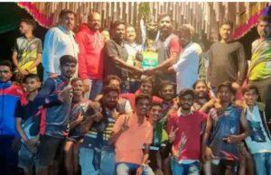 सिंधुदुर्गातील जिल्हास्तरीय हॉलीबॉल स्पर्धेत मालवण संघ विजेता; नितीन स्पोर्ट्स म्हापण उपविजेता
