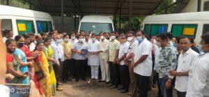 आमदार नितेश राणे यांनी दिली वैभववाडी ग्रामीण रुग्णालयाला वातानुकूलित रुग्णवाहिका
