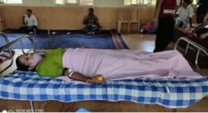 शिवप्रेमी यशवंतगड आयोजित रक्तदान शिबिरास उत्स्फूर्त प्रतिसाद
