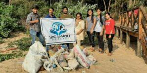 'वुई फॉर यू' संस्थेतर्फे सागरेश्वरला स्वच्छता मोहीम…