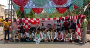 """शेतकऱ्यांच्या """"भारत बंद"""" ला सावंतवाडीत काँग्रेसचा पाठिंबा…"""