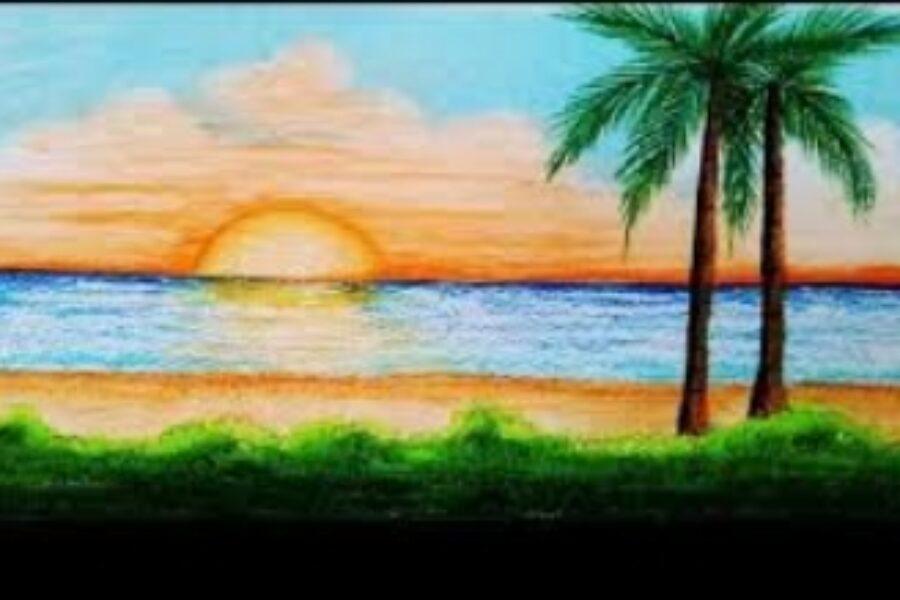 सागरतट –  काव्यप्रकार :- हायकु