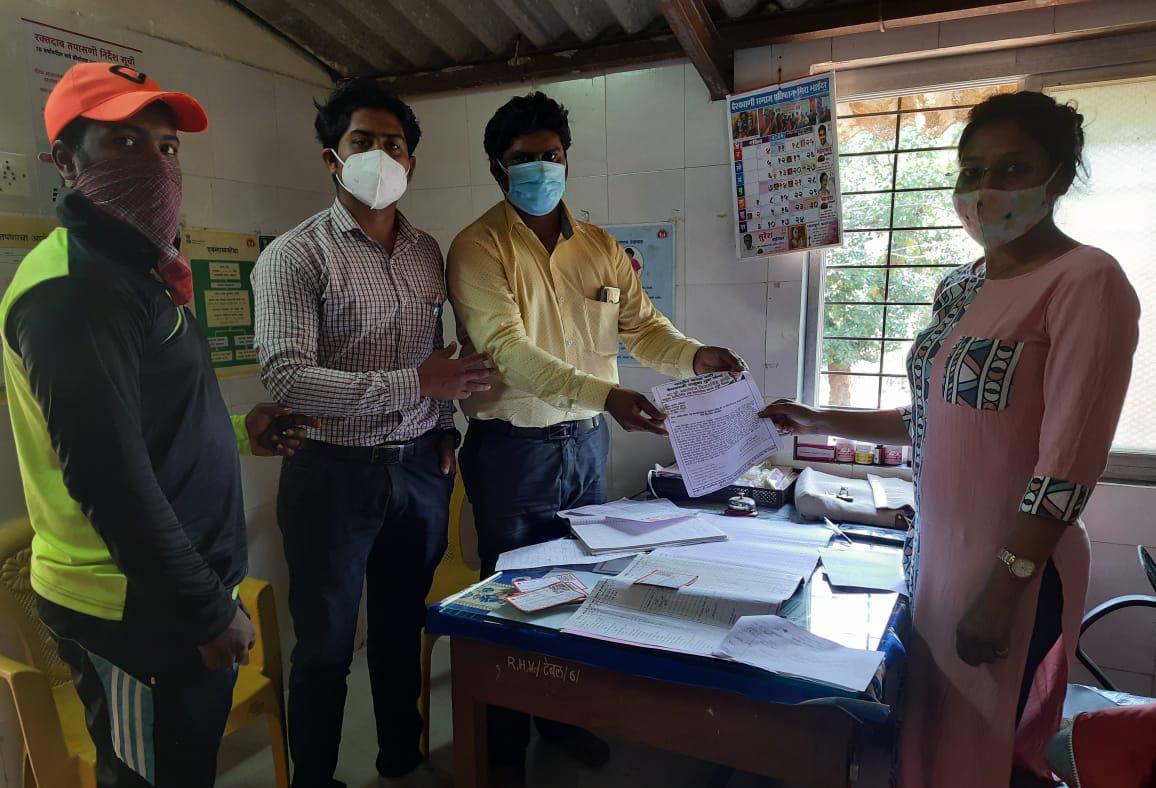 वैद्यकीय रिपोर्ट उशिरा मिळत असल्याबाबत ग्रामपंचायत सदस्य तथा वैभववाडी तालुका भाजपा युवा सरचिटणीस नवलराज काळे यांनी जिल्हा आरोग्य यंत्रणेचे वेधले लक्ष…