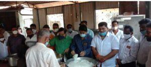 गरिबांसाठी कुडाळमध्ये शिवभोजन थाळी…