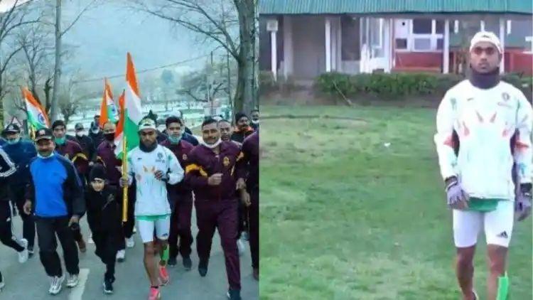 काश्मीर ते कन्याकुमारी! वेलू पीने उचलला 43 हजार किमी अंतर गाठण्याचा विडा