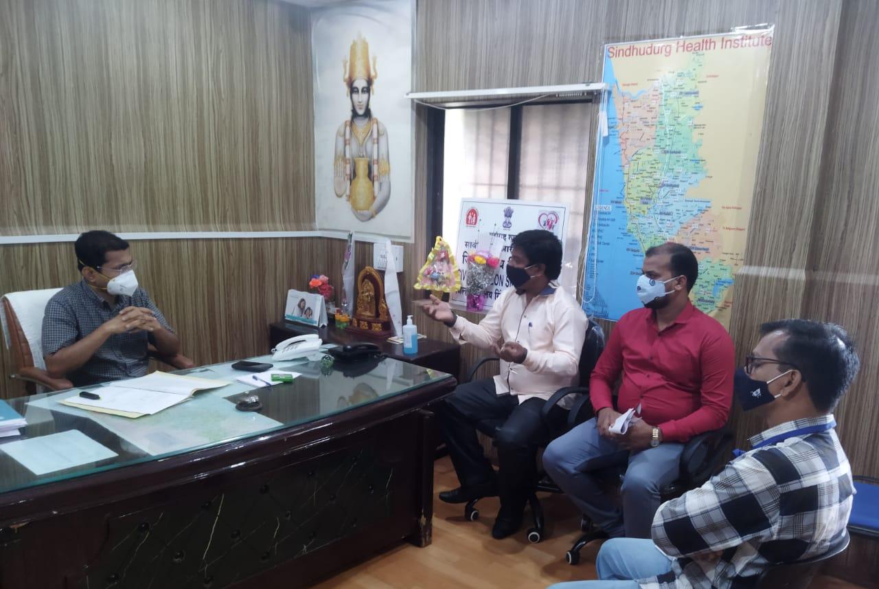 महाराष्ट्र शासनाच्या अध्यादेशाला केराची टोपली दाखविणाऱ्या खाजगी कोविड रुग्णालयांवर कारवाई करा…