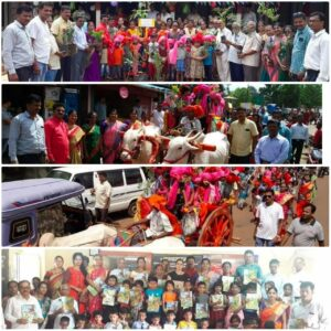 Read more about the article चैतन्यमय शाळा प्रवेशाचा पहिला दिवस