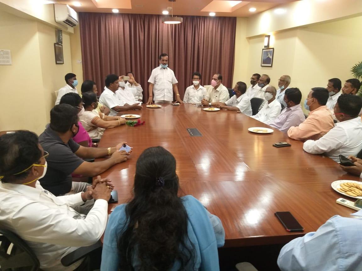 सिंधुदुर्ग जिल्हात काँग्रेस हा पुन्हा एक नंबरचा पक्ष करणारच – महाराष्ट्र प्रदेश काँग्रेस ओबीसी विभागाचे अध्यक्ष भानुदास माळी