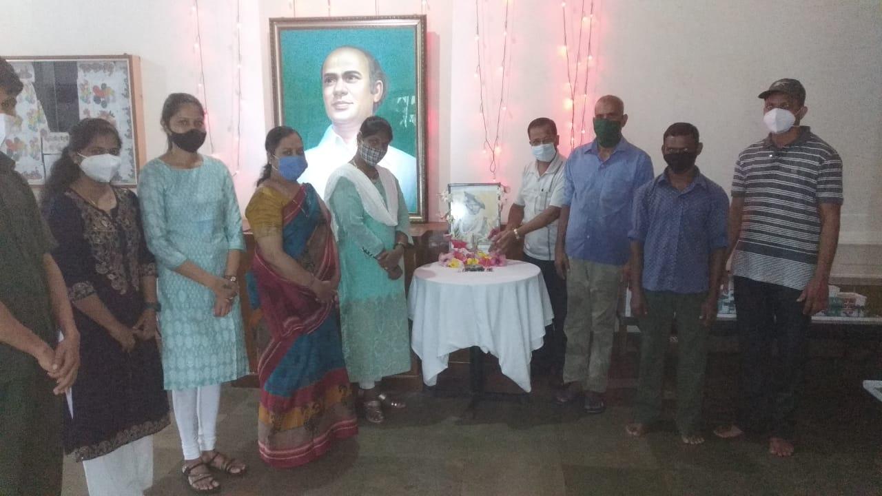 बॅ. नाथ पै शिक्षण संस्थेमध्ये राजश्री शाहू महाराज जयंती साजरी