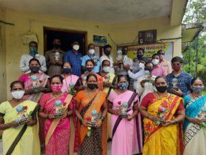 Read more about the article प्राथमिक शिक्षक भारती मालवणच्या वतीने कोरोनामुक्त गाव वायंगवडेचा सत्कार