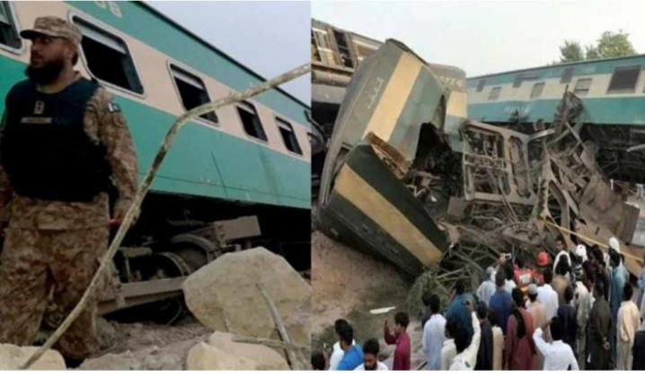 रेल्वेचा भीषण अपघात, आता पर्यंत ५० जणांचा मृत्यू