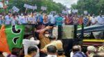 सिंधुदुर्ग जिल्हा रुग्णालयासमोर भाजपाचे लक्षवेधी आंदोलन