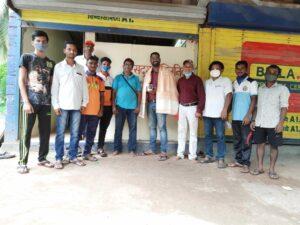 'डॉक्टर्स डे' चं औचित्य साधून माऊली स्पोर्ट्स क्लब वरची भुईवाडाच्या वतीने डॉ. मयूर गोसावी यांचा सत्कार