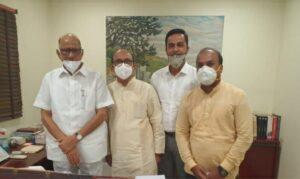 माजी राज्यमंत्री प्रवीण भोसले दिल्लीत