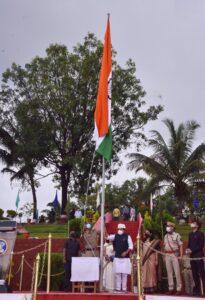 Read more about the article भारतीय स्वातंत्र्याचे अमृत महोत्सवी वर्ष सर्वांच्या सहकार्याने साजरे करुया