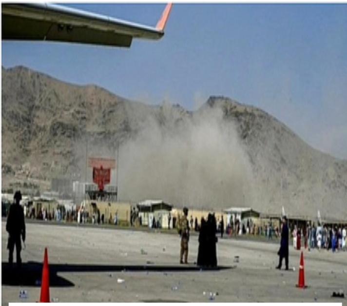 You are currently viewing काबूल विमानतळाचा परिसर बॉम्ब स्फोटांनी हादरला