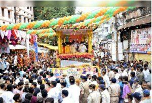 Read more about the article खासदार नारायण राणे यांची जन आशीर्वाद यात्रा…..गर्दी आणि राडे