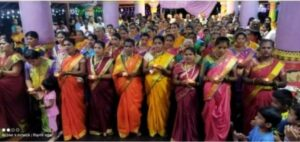 Read more about the article मडुरा माऊली मंदिर नवरात्रोत्सव कार्यक्रमातील पैठणीच्या मानकरी सौ. लक्ष्मी विष्णू परब