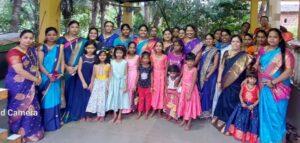 Read more about the article भाजप महिला मोर्चाच्या वतीने सांर्गिडेवाडी येथे कन्यापुजन कार्यक्रम संपन्न