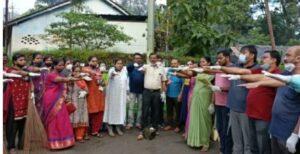 Read more about the article राष्ट्रपिता महात्मा गांधी जयंती निमित्त शहरात राबवण्यात आली स्वच्छता मोहीम…