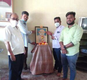 Read more about the article देवगड काँग्रेसने साजरी केली गांधी जयंती