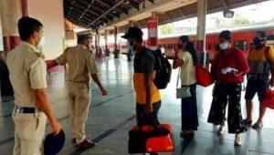 Read more about the article कोकण रेल्वे स्थानकावर विनामास्क दिसल्यास 500 रुपये दंड
